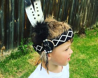Native 'TigerLily' tribal headband