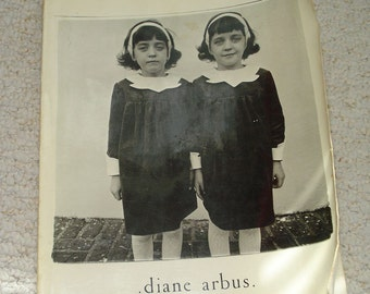 DIANE ARBUS, An Aperture Monograph,  Doon Arbus and Marvin Israel, Designers and Editors. Photography Softcover book. Free Shipping