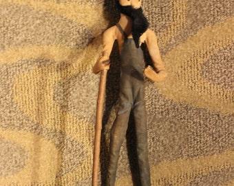 Vintage 20th Century Wire/ Mixed Media Figurine