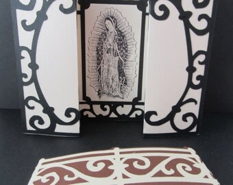 Virgin of Guadalupe Religious Gatefold Card