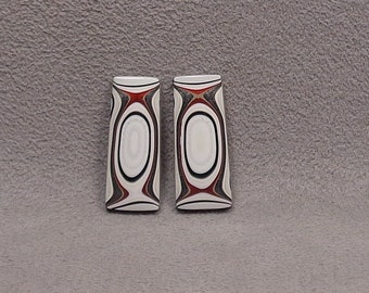 FORDITE Matched Pair Of Cabochons