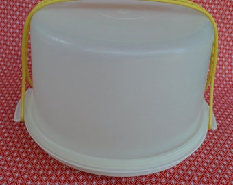 Vintage Tupperware Covered Cake Carrier Keepers and Maxi Cake Keeper - SEVERAL OPTIONS / Color Options 624, 683, 684, 1257 and 1287