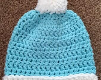 Newborn crochet hat
