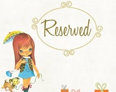 RESERVED Party Favor Bags Forest Woodland 54 5X7 Personalized