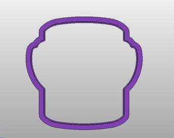"Paint Can Cookie Cutter - 2.5"" and 3.5"" wide cutters"