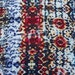 Rayon Spandex Tribal Print Fabric Jersey Knit by the Yard 4 Way Stretch Multi Color 6/16