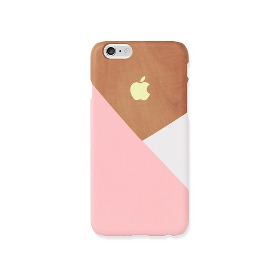iphone 6 s cas pastel rose pos sur le motif en bois coque. Black Bedroom Furniture Sets. Home Design Ideas