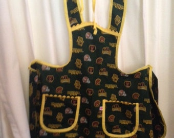 full length Baylor U. apron