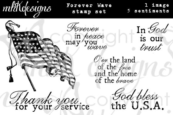 Forever Wave Digital Stamp Set