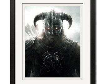 The Elder Scrolls Skyim Dawnguard Poster Print