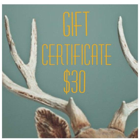 Gift Certificate for berit's lilla