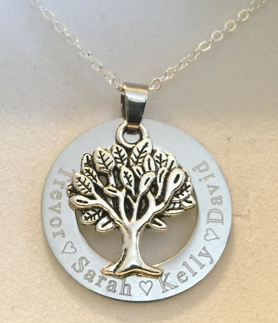 Engraved personalised any message mum by charmingjewellery4u