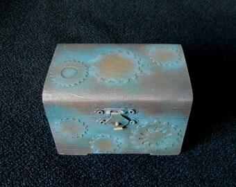Steampunk Jewelry Trinket Box