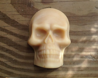 Honey & Citrus Skull Soap