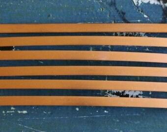 "Copper Bracelet Stamping Blanks - Metal Stamping Blank - 18 Gauge - 1/4"" x 6"" - Pack Of 6 - Jewelry Stamping Blank - SGMET-120.66"