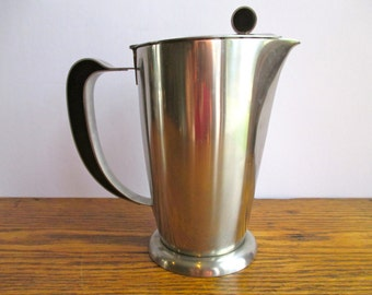 Vintage Gense Stainless Steel Coffee Pot Made in Sweden