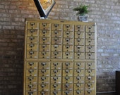 60 Drawer Card Catalog Remington Rand- Reserved for Ellen