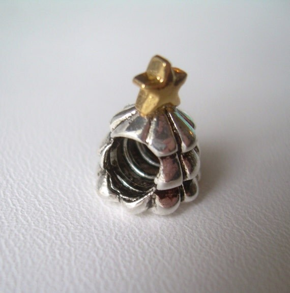 PANDORA Christmas Tree-European Charm by CougarCoveJewelry ...