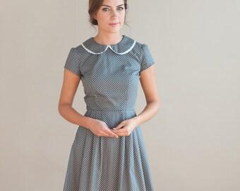 Grey spotty dress