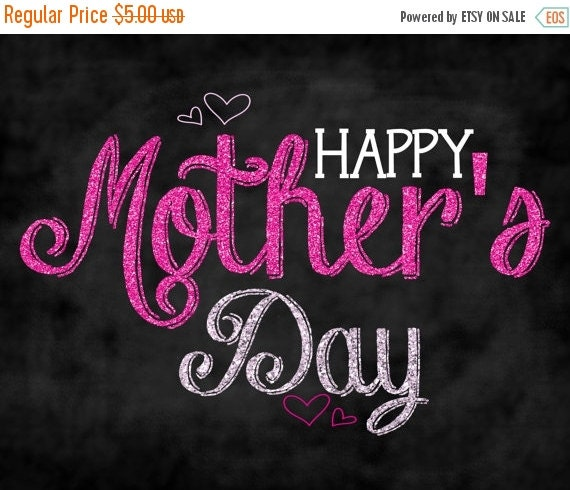 Mothers Day Storewide Sale Template: SALE Happy Mother's Day Chalkboard Sign/photo Prop By