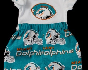 Miami Dolphins 3pc Boys Bodysuit set