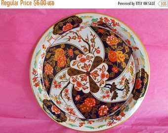 Vintage Asian Theme Daher Metal Plate