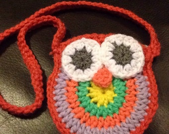 Child Owl Purse