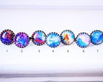 Universe cabochon ring