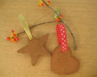Teacher Gift, Stocking Stuffer, Cinnamon Ornaments