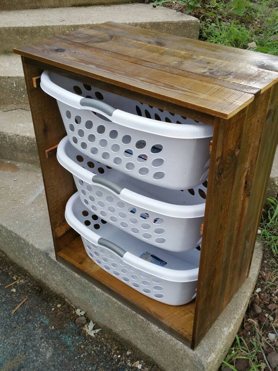 Laundry Basket Holder Laundry Room Decor By Designsbydomandmel