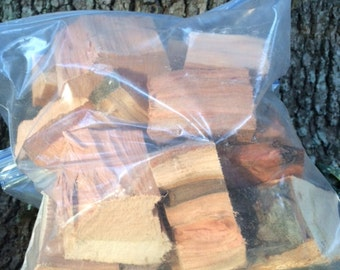 Sale! Cherry Wood Chunks for BBQ Smoking Grilling