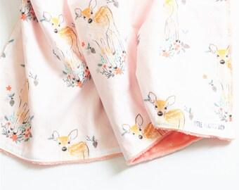 Minky Baby Blanket Minky Blanket Baby Blankets Baby Blanket Minky Receiving Blanket Baby Blankets Handmade Minky Baby Blanket Girl Baby Gift