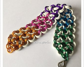 02 Chain Maille bracelet - Chainmaille bracelet