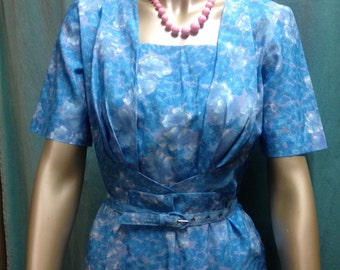 "ON SALE  1950's Day Dress by ""House of Christina"", Tasmania"