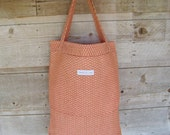 Reusable Grocery Bag - Burnt Orange