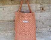 Reusable Grocery Bag - Burnt Orange