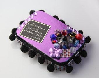 Purple Family is Precious Tin