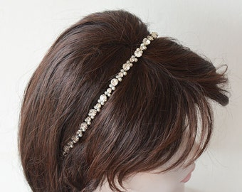 Wedding Pearl Headpiece, Bridal Headband Pearl, Hair Accessories Wedding, Pearl Bridal Headpiece, wedding hair jewelry, Hair Accessories