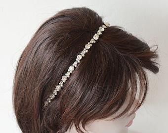 Wedding Headpiece, Bridal Headband ,  Pearl Bridal Headpiece, Hair Accessories, wedding hair jewelry, Hair Accessories