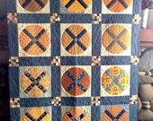 Applique Pattern - Crossings Applique Quilt Pattern