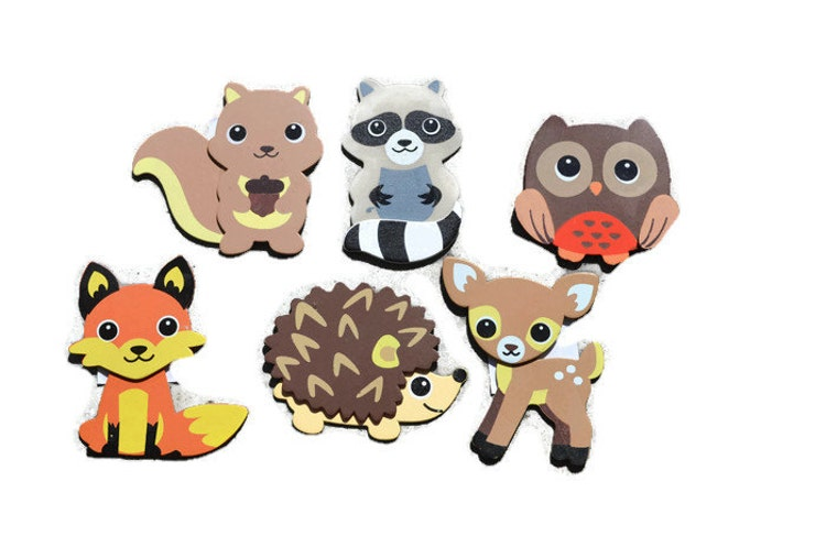 Woodland Animal Closet Dividers Animal By Ashleyrcreations