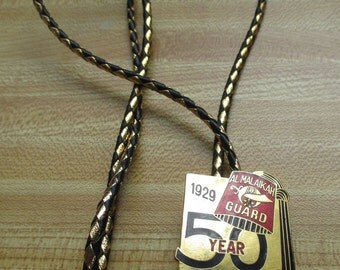 Vintage Masonic Bolo - 50 year - 1929-1979  - In mint condition. - Estate find!