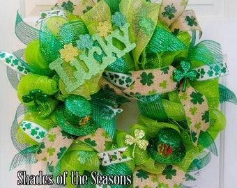 Saint Patrick's Wreath, Luck of the Irish Wreath
