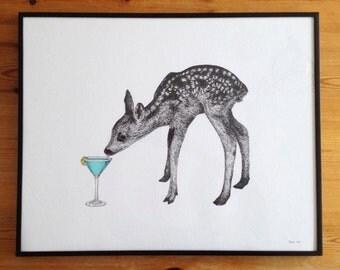 Deer Martini