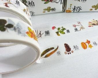 Crazy Sales : Flower Masking Tape - 15 mm x 3 M - 2 Rolls