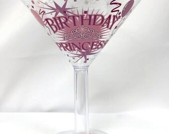 Birthday Princess Pink Plastic Cup Keepsake Gift Idea Party Cup
