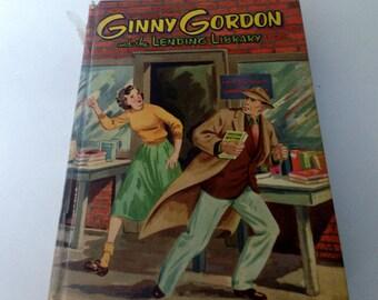 Ginny Gordon and the Lending Library - Whitman Hardback 1954