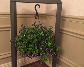 Handmade wooden plant stand