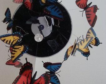 Rock n Roll Butterflies Record Mobile