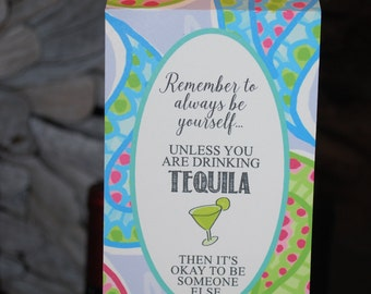 Fun Tequila Tag